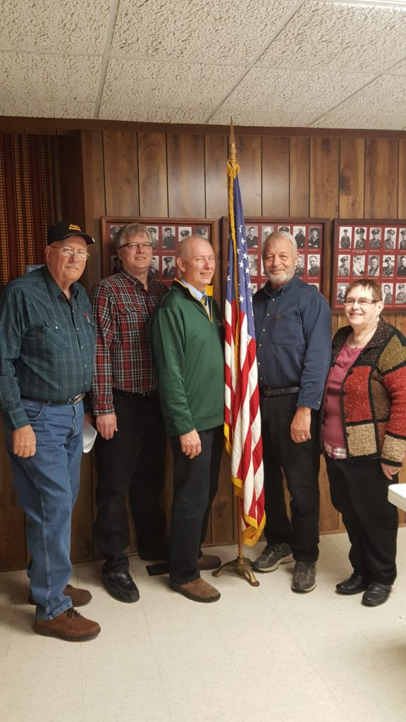 Wayne Nelson, Councilor; Harley Blackstad, Councilor; Gary Schwichtenberg, Mayor; Larry Stoesz, Councilor; Deanna Zea, Councilor